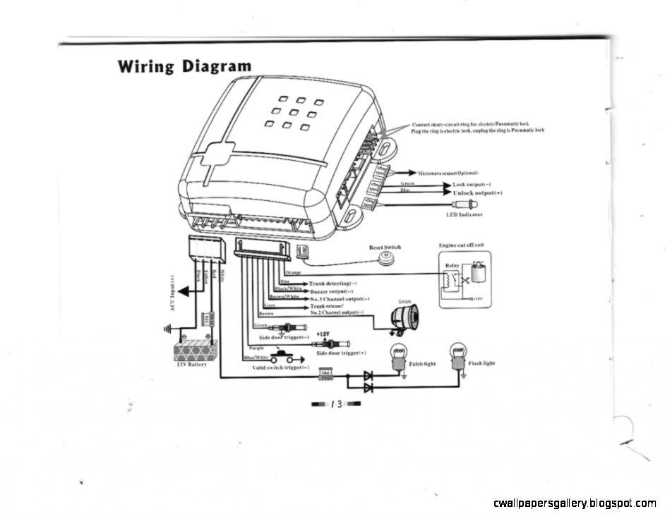 Prestige Car Alarm Wiring Diagram