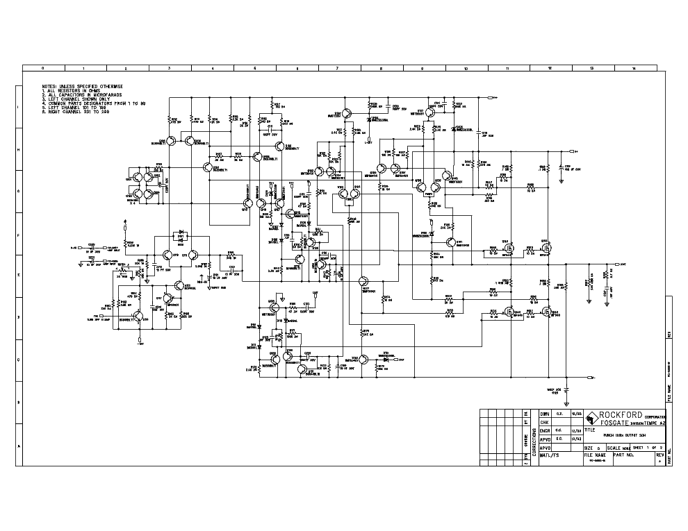 Rockford Fosgate P304-12 Wiring Diagram