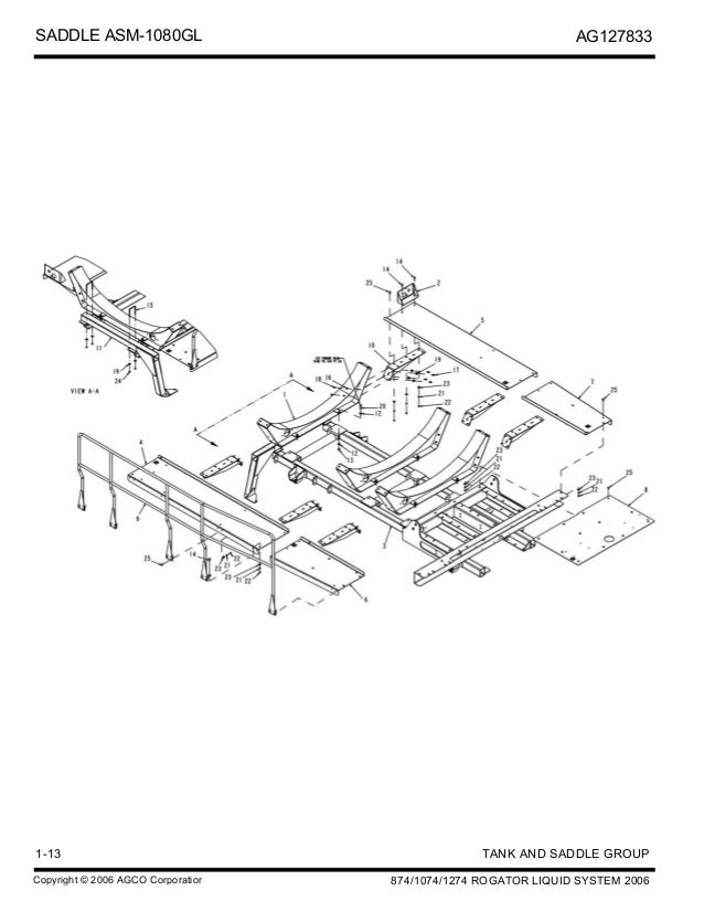 Rogator 874 Ss Wiring Diagram