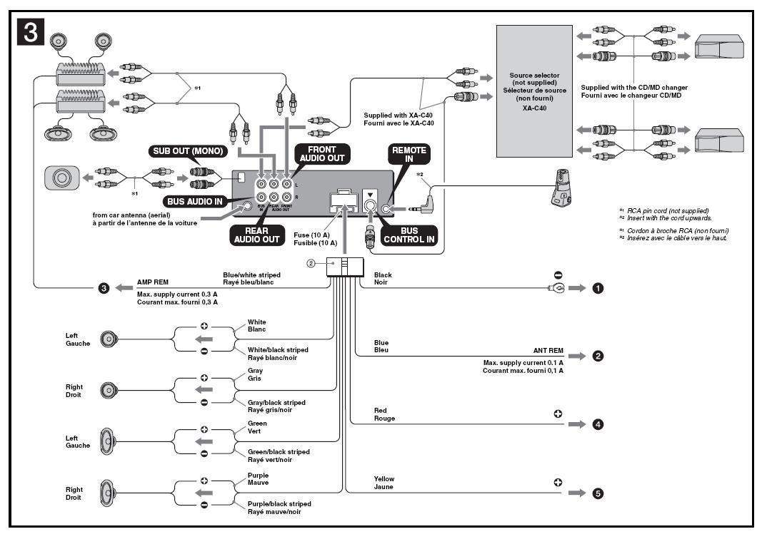 Sony Xplod Mex-bt2700 Wiring Diagram
