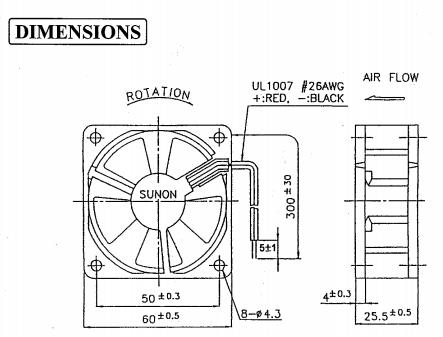 Sunon Fan Wiring Diagram