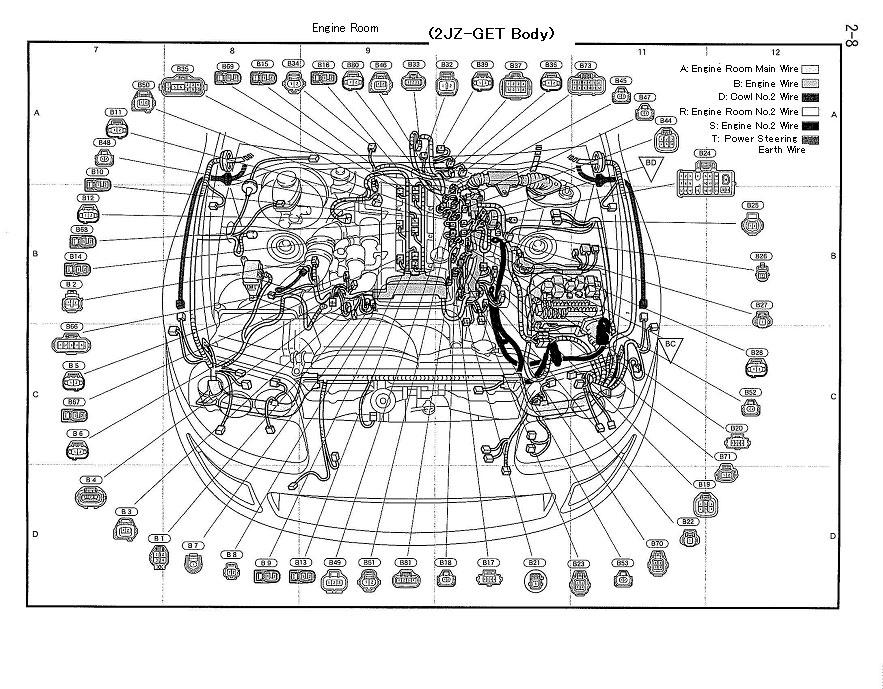 Supra Wiring Diagram 2jzge