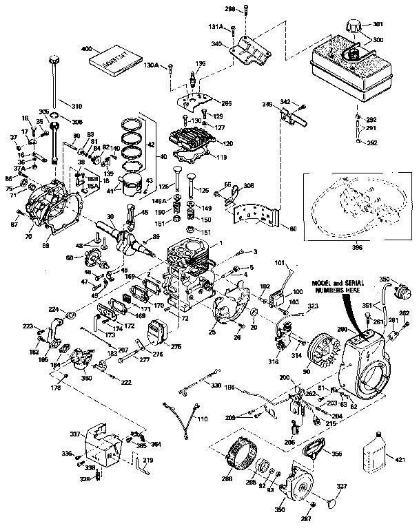 Tecumseh Hm80 Parts Diagram