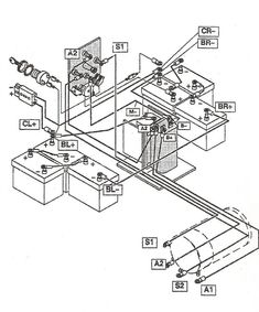 Testron Ez Go 739807 Wiring Diagram