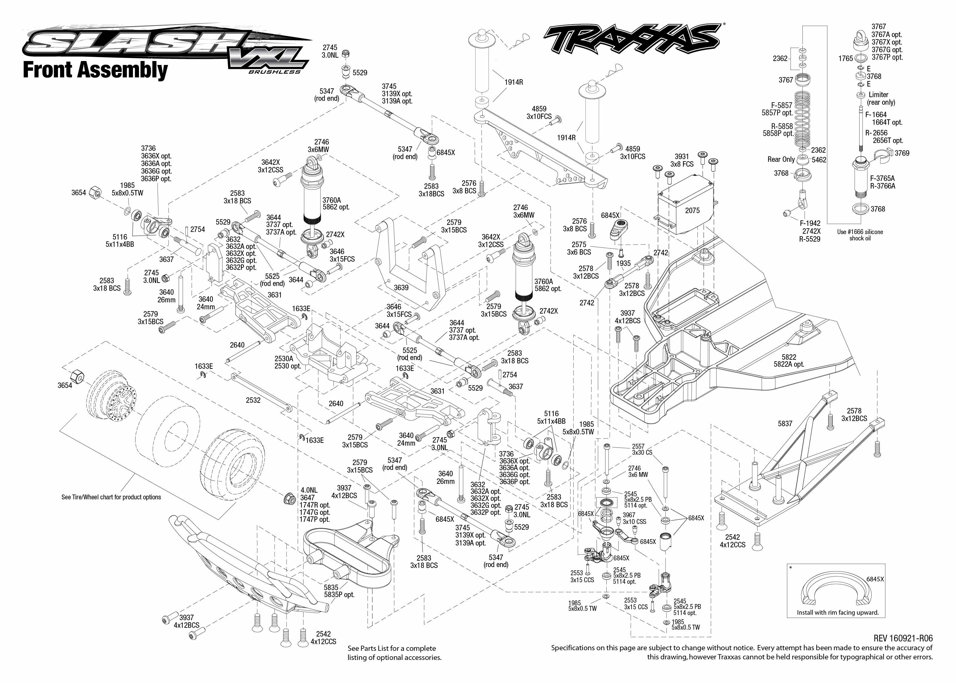 Traxxas Slash Diagram