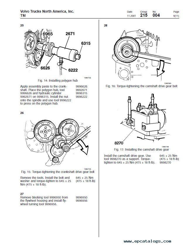 Volvo D12 Belt Diagram