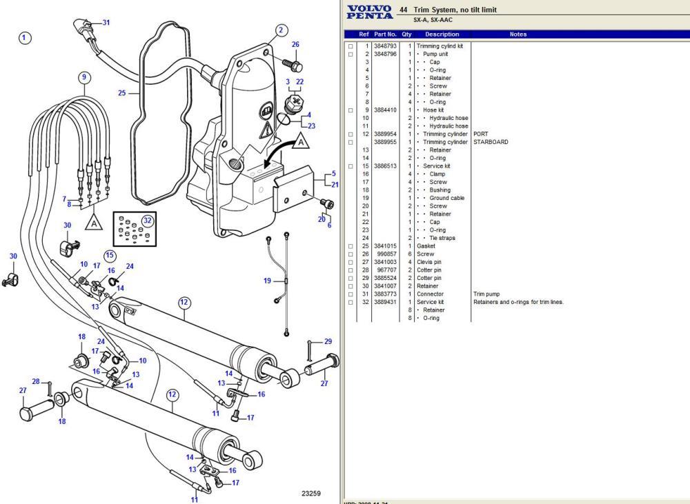 medium resolution of volvo pentum outdrive wiring diagram