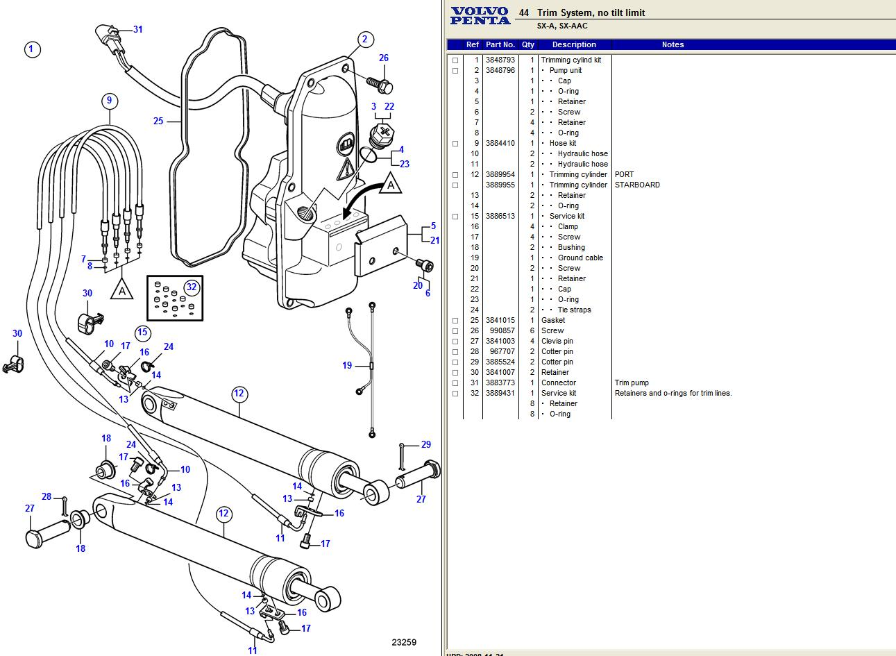 hight resolution of volvo pentum outdrive wiring diagram