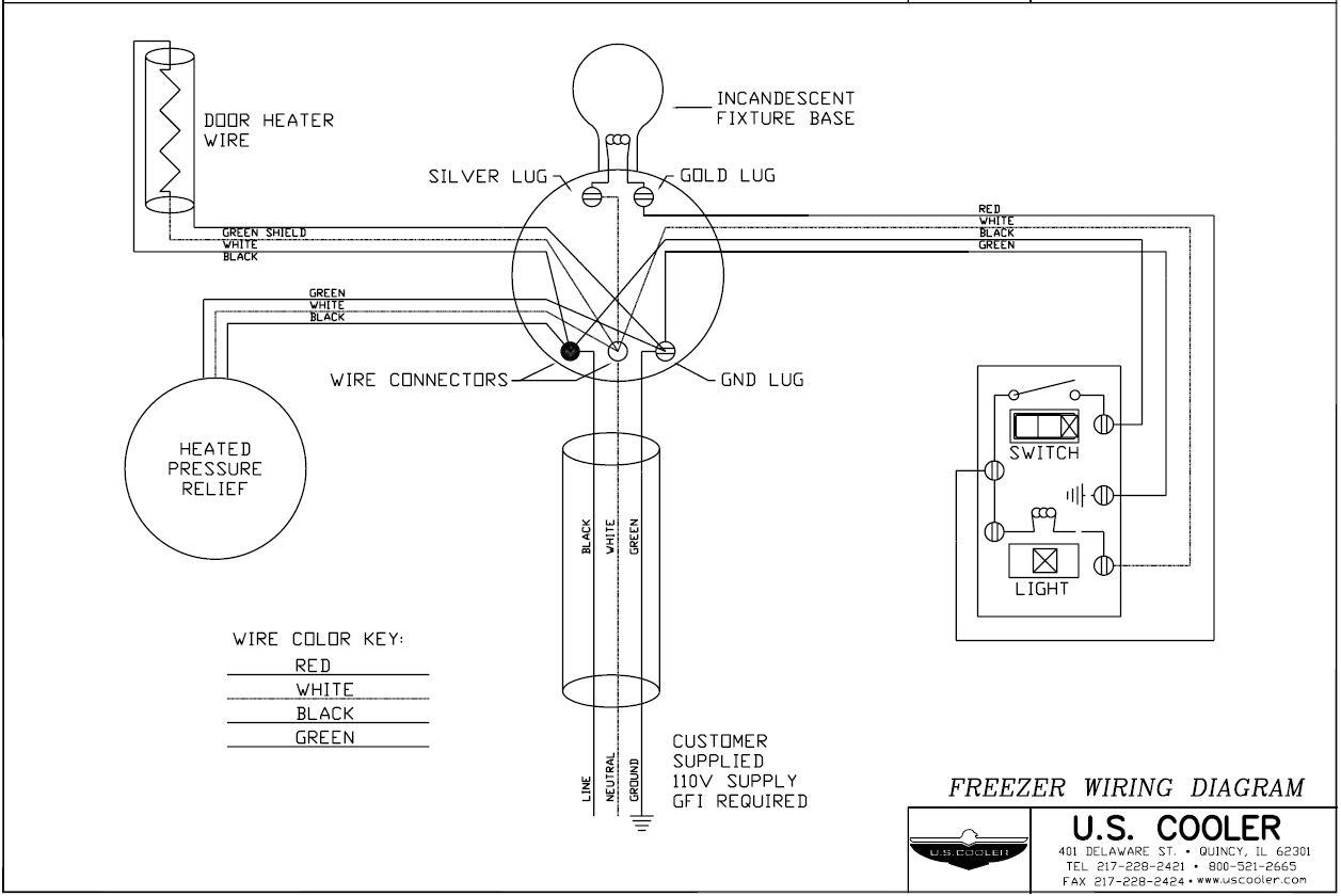 Walk In Cooler Condensing Unit And Evaporator Wiring Diagram