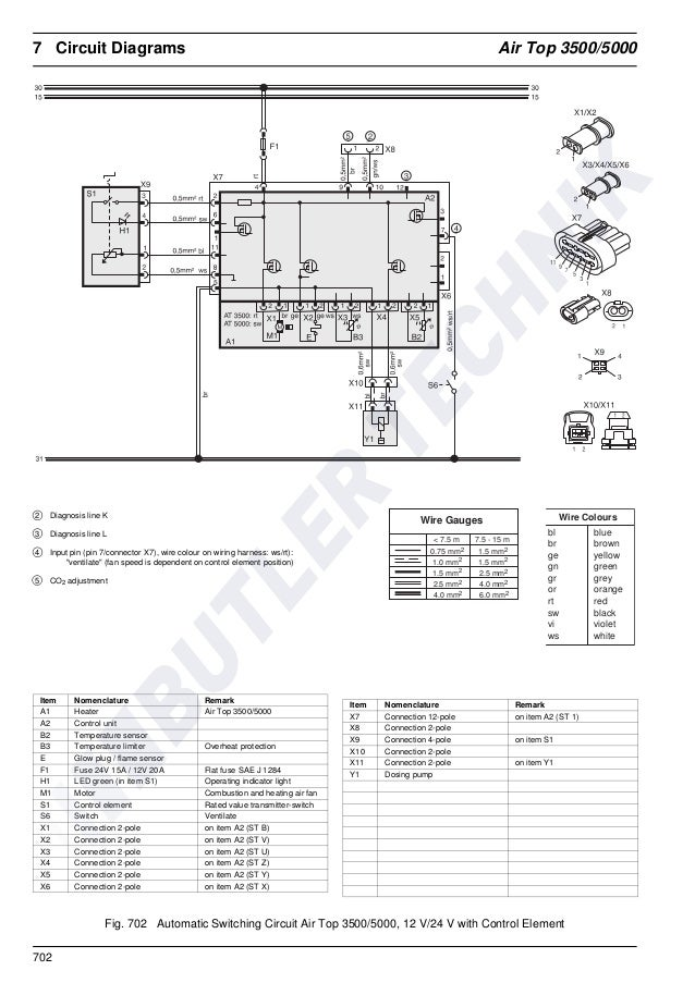 Webasto Hl18d Wiring Diagram