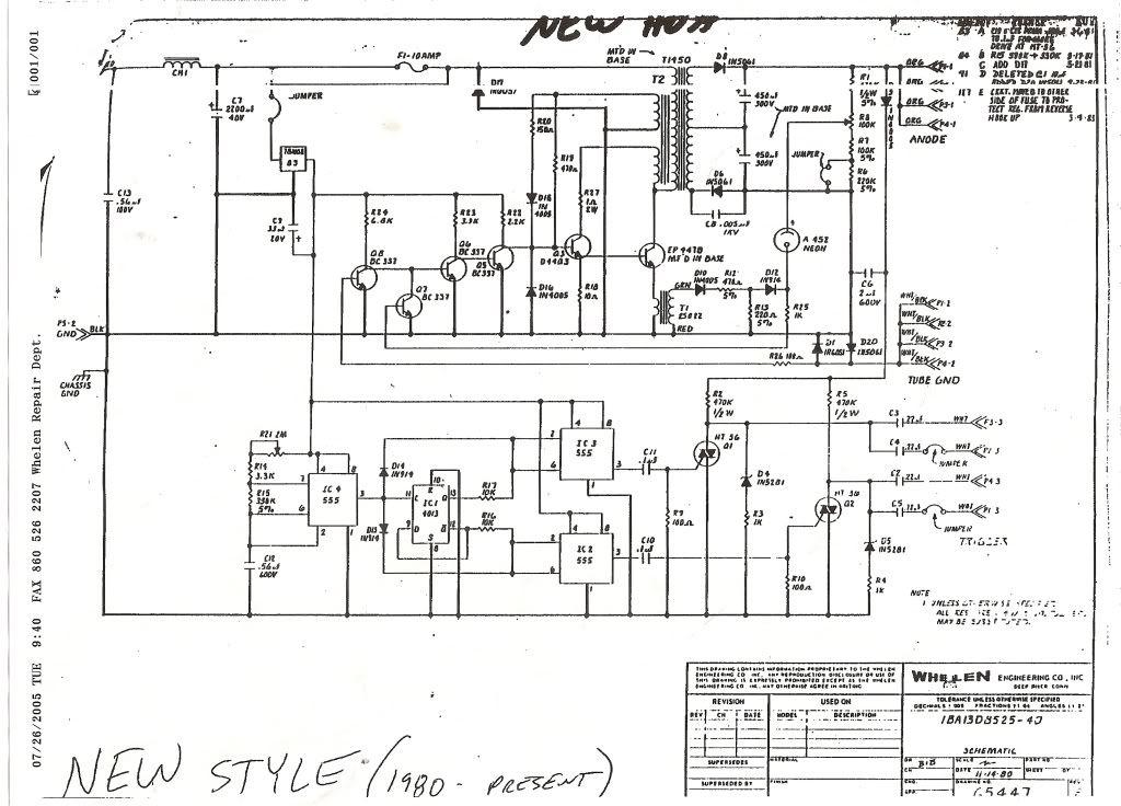 Whelen Strobe Wiring Diagram