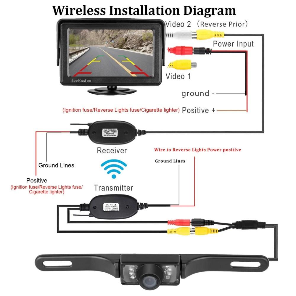medium resolution of brigade reverse camera wiring diagram