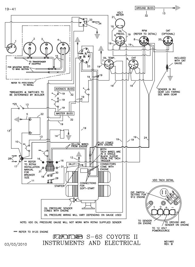 Wiring Diagram Aircraft Rotax 912is