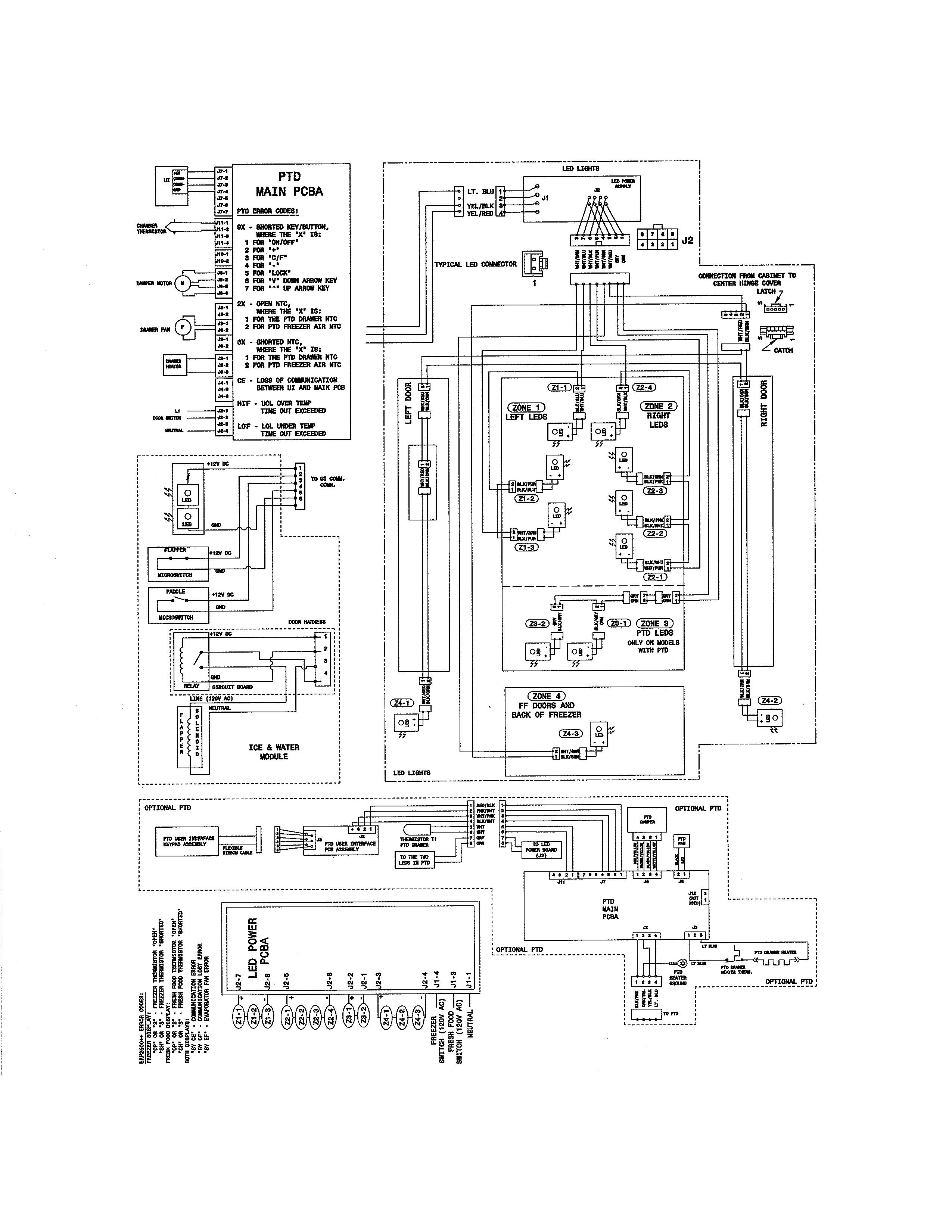 Wiring Diagram Electrolux #1205