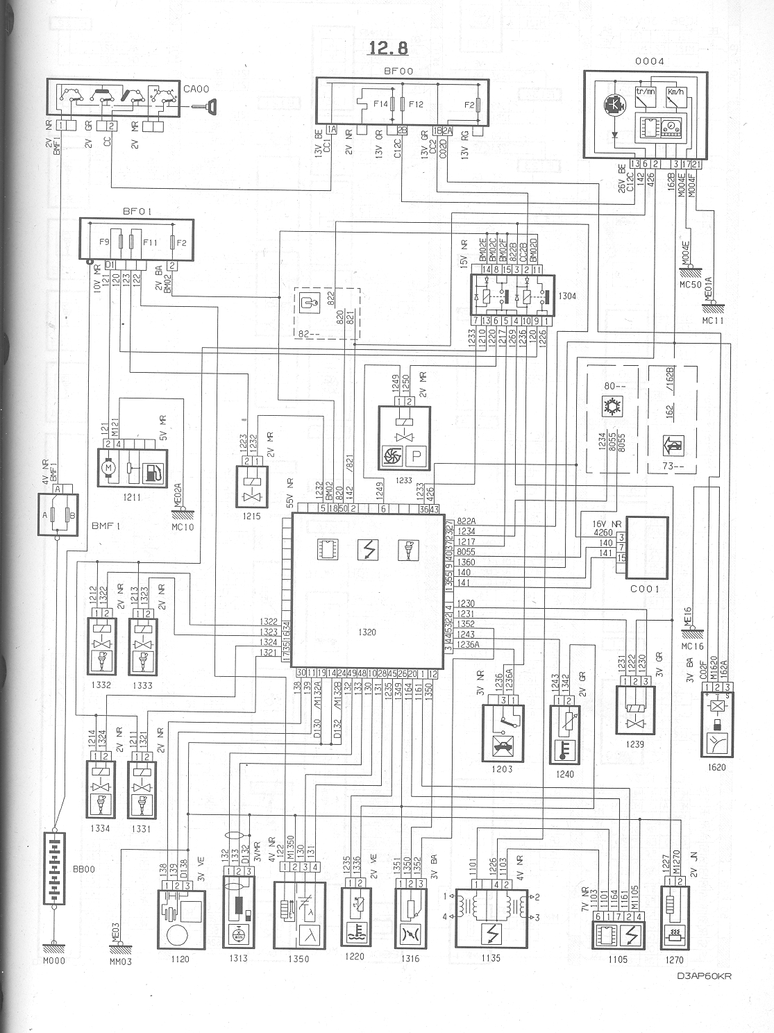 Wiring Diagram For Citroen 2cv