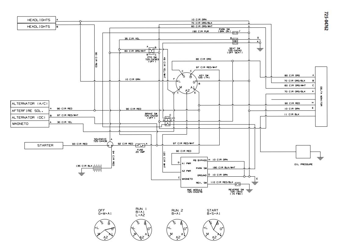 hight resolution of cub cadet 125 wiring