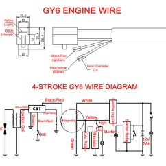 Taotao 50 Ignition Wiring Diagram Honda Xrm Rs 125 Electrical For Gy6 50cc Scooter Atm50