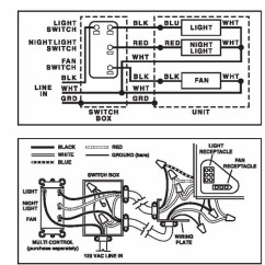 Nutone Bathroom Fan Wiring Diagram Hino For 695 Heater And Motor