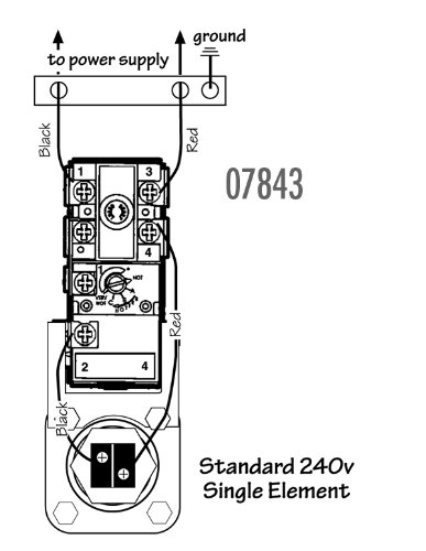 Wiring Diagram For Reliance 606 Water Heater