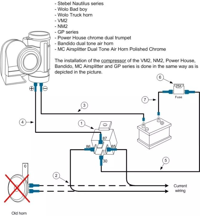 hadley air horn wiring diagram  1983 jeep wrangler wiring