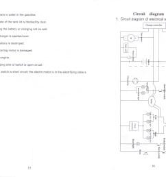 pocket bike wiring harnes diagram [ 3105 x 2272 Pixel ]