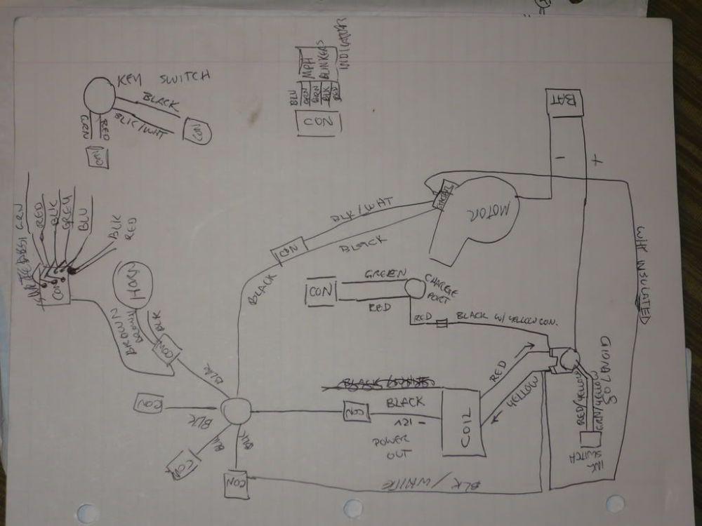 medium resolution of terminator pocket bike wiring diagram