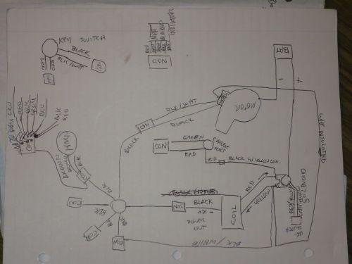 small resolution of terminator pocket bike wiring diagram