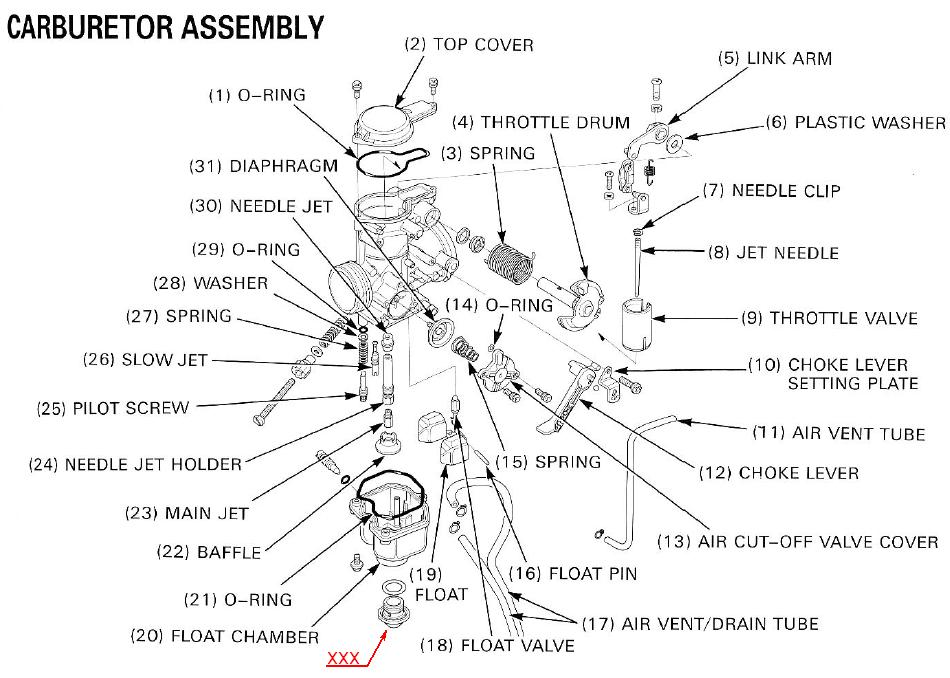 Xr400 Wiring Diagram / Australian Xr400 Wiring Diagram