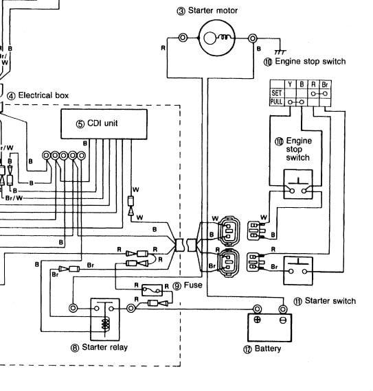 Yamaha Blaster Light Wiring