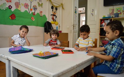 As a part of interest to the child, the Montessori Nursery Organizes a Safety courses