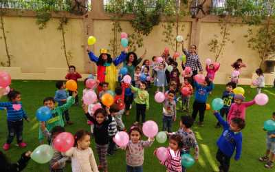 في يوم الطفل العالمي، دياكونيا للتنمية يعزز روح التآخي
