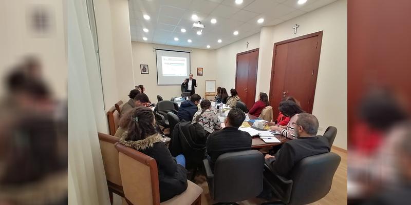"""دورات تدريبية عن التخطيط الإستراتيجي – مكتب دياكونيا بالتعاون مع مؤسسة """" MERL """""""