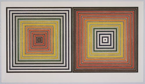 Frank Stella, Double Gray Scramble (1973). Photo: moma.org