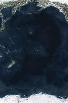 Andreas Gursky, Ocean V (2010). Photo: christies.com