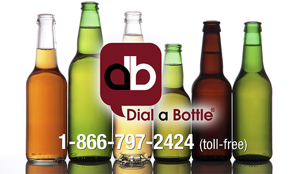 Dial a Bottle Beer and Liquor Delivery 1-866-797-2424