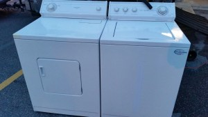 washer and dryer pick up