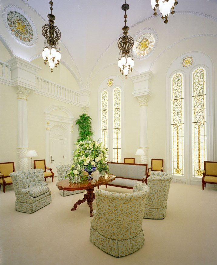 Celestial room. The celestial room represents the peace and beauty of dwelling in the presence of God.