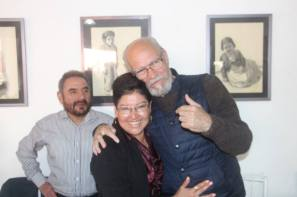 Guillermo Jiménez Rojas, Fanny Lozano y JLA
