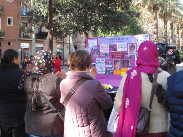 Dia contra la violència de genere novembre 2013 rambla del raval