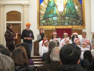 Celebració interreligiosa desmembre 2013 Grup Interreligiós del Raval 2