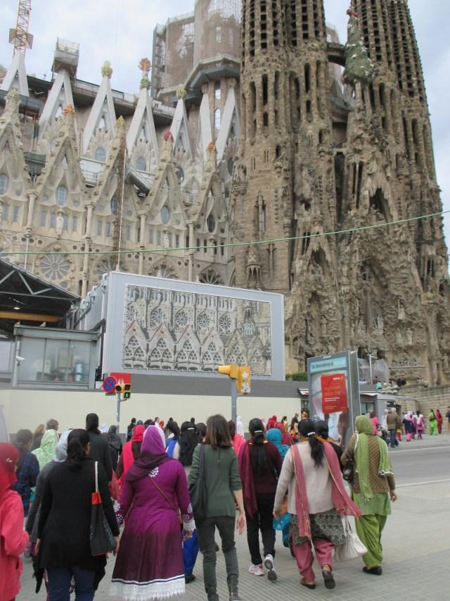 Visita Sagrada Família Antoni Gaudí maig 2014