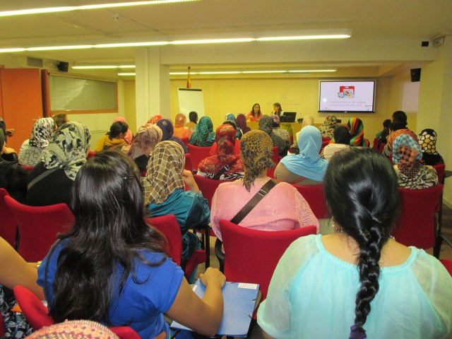 Sessió informativa a l'Institut Català de la Dona: Primers auxilis octubre 2014