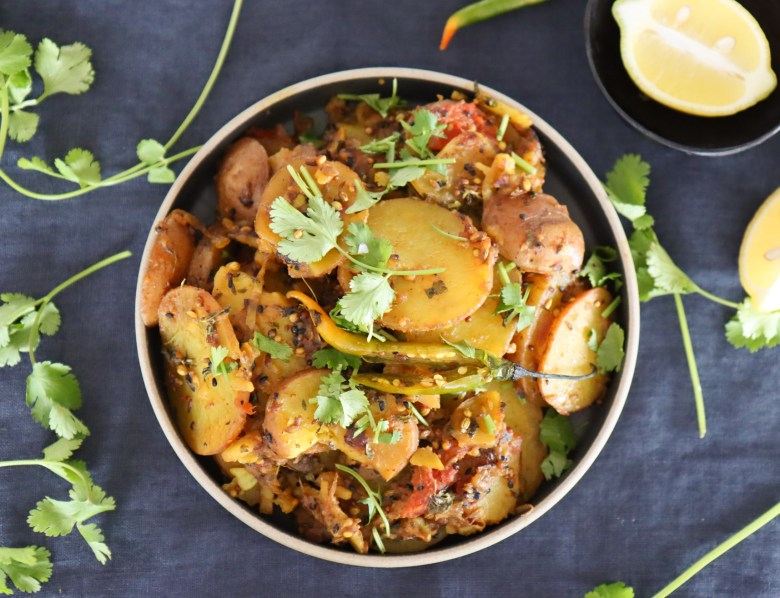 Indian Spicy Potatoes