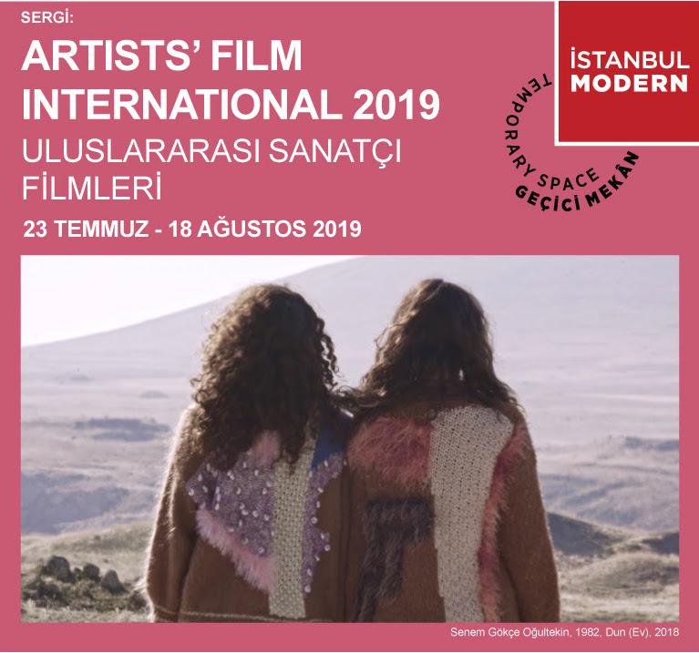 Uluslararası Sanatçı Filmleri 2019 İstanbul Modern'de!