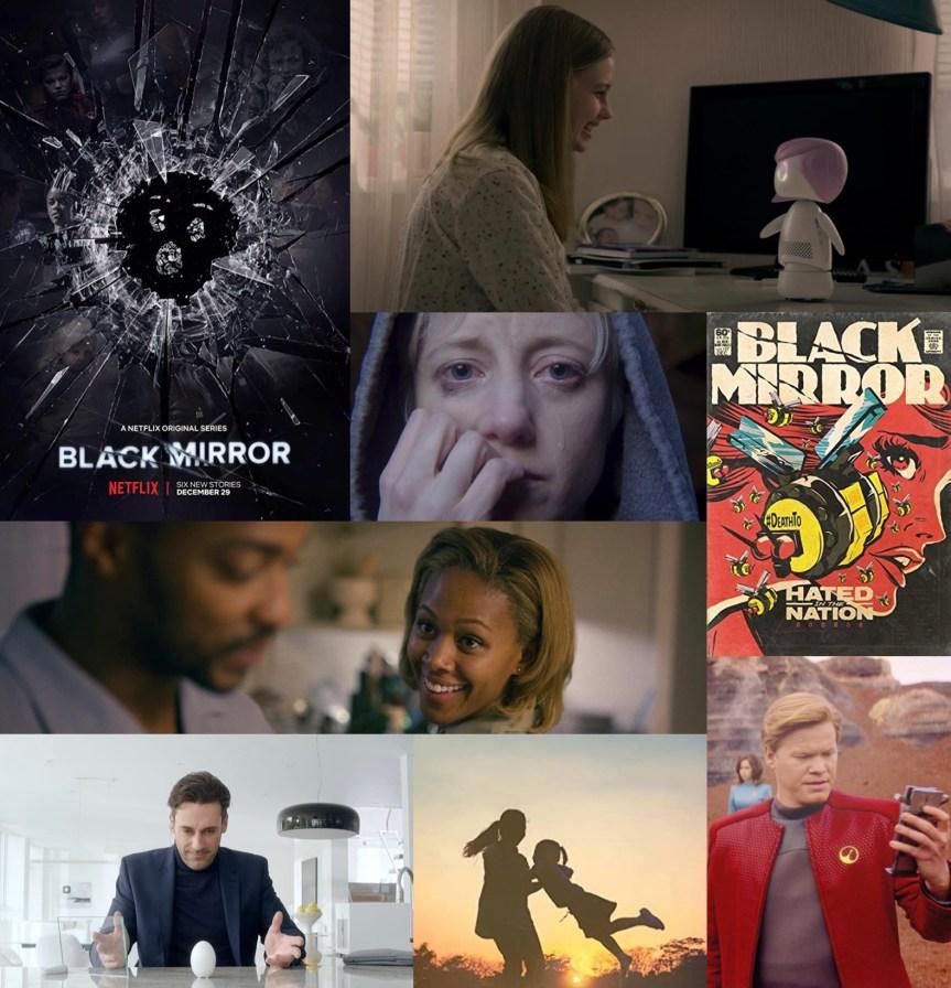 """BLACK MIRROR Işığında İnsanlığın """"Kara Ayna""""daki Yansıması ve Gelecek Senaryoları"""