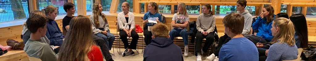 KlimaDialog med skoleungdom på Klimahuset