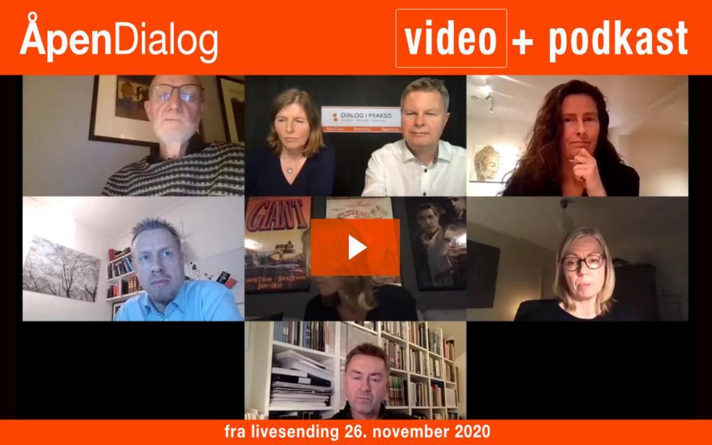 Opptak av ÅpenDialog 26.11.2020