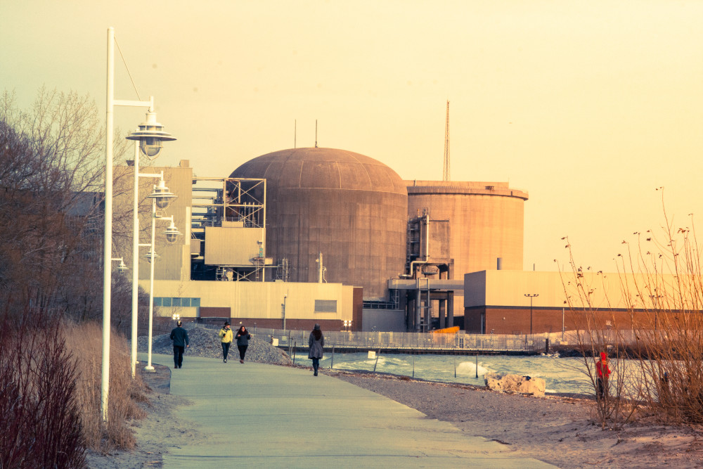 Pickering Nuclear Generating Station, around 30 kilometres from downtown Toronto. A new program makes KI pills available to colleges and universities