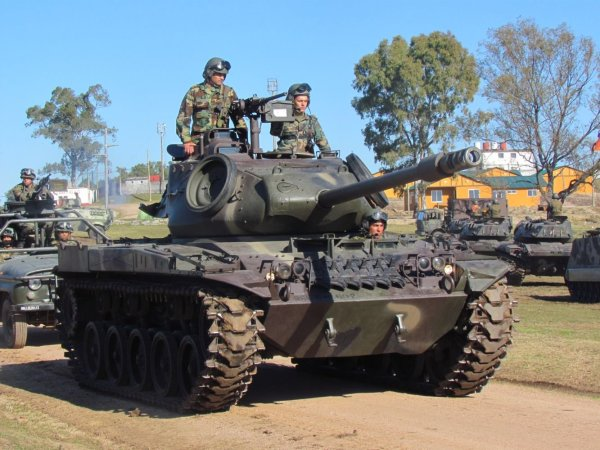 US Armored Vehicles Create Unique Breed of Uruguayan
