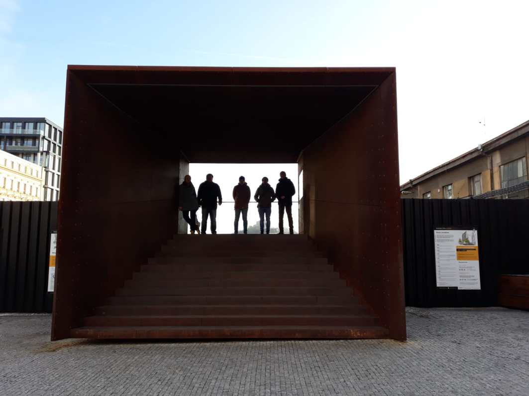 Infocenter Stadtentwicklungsgebiet beim Kopfbahnhof Masaryk (CC) Lisa Vlasak